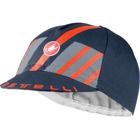 Castelli Hors Categorie Badmuts, savile blue/light steel blue/brilliant orange